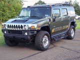 2004 Hummer H2 Sage Green Metallic