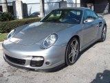 2007 GT Silver Metallic Porsche 911 Turbo Coupe #5288660