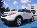 2011 White Platinum Tri-Coat Ford Explorer XLT #53064006
