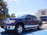 2011 Dark Blue Pearl Metallic Ford F150 XLT SuperCrew #53064007