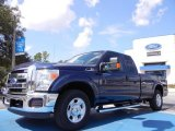 2012 Dark Blue Pearl Metallic Ford F250 Super Duty XLT SuperCab #53064009