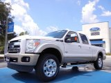 2012 White Platinum Metallic Tri-Coat Ford F250 Super Duty King Ranch Crew Cab 4x4 #53064010