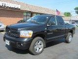 2006 Black Dodge Ram 1500 Sport Quad Cab 4x4 #53064375