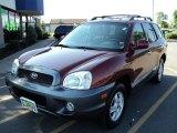 2004 Merlot Red Hyundai Santa Fe GLS 4WD #53064553