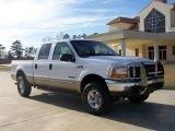 2000 Oxford White Ford F250 Super Duty Lariat Crew Cab 4x4 #5300417