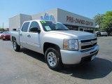 2010 Sheer Silver Metallic Chevrolet Silverado 1500 LT Crew Cab #53064387