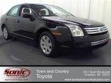 2008 Black Ebony Ford Fusion S #53064388