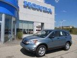 2010 Opal Sage Metallic Honda CR-V LX AWD #53064044
