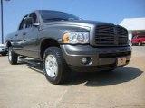 2003 Graphite Metallic Dodge Ram 1500 Laramie Quad Cab 4x4 #53064396