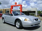 2000 Silver Metallic Ford Mustang V6 Convertible #5295070