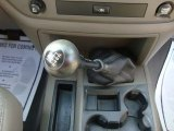 2008 Dodge Ram 1500 Big Horn Edition Quad Cab 4x4 6 Speed Manual Transmission