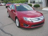 2010 Red Candy Metallic Ford Fusion SEL #53064234