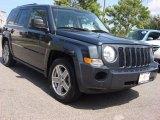 2007 Steel Blue Metallic Jeep Patriot Sport #53063907