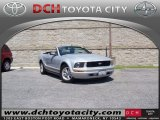 2006 Satin Silver Metallic Ford Mustang V6 Premium Convertible #53064579