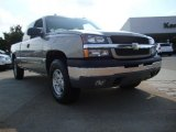 2003 Light Pewter Metallic Chevrolet Silverado 1500 LT Extended Cab 4x4 #53064404