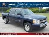 2011 Imperial Blue Metallic Chevrolet Silverado 1500 LT Crew Cab #53064410