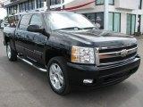 2007 Black Chevrolet Silverado 1500 LT Crew Cab #53064592