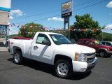 2011 Summit White Chevrolet Silverado 1500 LT Regular Cab 4x4 #53063930