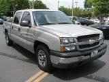 2005 Silver Birch Metallic Chevrolet Silverado 1500 LS Crew Cab #53064596