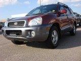 2004 Merlot Red Hyundai Santa Fe GLS 4WD #53063970