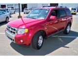 2009 Sangria Red Metallic Ford Escape Limited V6 4WD #53063998