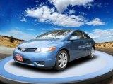 2007 Atomic Blue Metallic Honda Civic LX Coupe #53064656