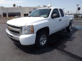 2011 Summit White Chevrolet Silverado 1500 LS Extended Cab #53064316