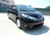 2011 Black Toyota Sienna Limited #53064156