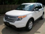 2012 Ford Explorer White Suede