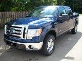 2011 Dark Blue Pearl Metallic Ford F150 XLT SuperCrew 4x4 #53064503