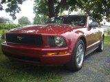 2005 Redfire Metallic Ford Mustang V6 Premium Convertible #53117362