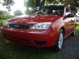 2005 Infra-Red Ford Focus ZX4 SE Sedan #53117364