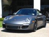 2012 Meteor Grey Metallic Porsche 911 Carrera GTS Coupe #53117206