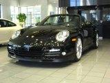 2012 Black Porsche 911 Turbo S Cabriolet #53117207