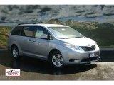 2011 Silver Sky Metallic Toyota Sienna LE #53117115