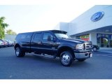 2005 Black Ford F350 Super Duty Lariat Crew Cab 4x4 Dually #53117306