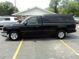 2004 Black Chevrolet Silverado 1500 Regular Cab #53117609