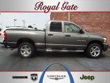 2007 Mineral Gray Metallic Dodge Ram 1500 ST Quad Cab 4x4 #53117171