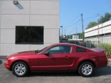 2007 Redfire Metallic Ford Mustang V6 Deluxe Coupe #53117847