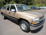 1999 Sunset Gold Metallic Chevrolet Silverado 1500 LS Extended Cab 4x4 #53117340