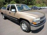 1999 Sunset Gold Metallic Chevrolet Silverado 1500 LS Extended Cab 4x4 #53117340