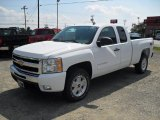 2011 Summit White Chevrolet Silverado 1500 LT Extended Cab 4x4 #53117632
