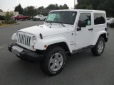 2012 Bright White Jeep Wrangler Sahara 4x4 #53117664