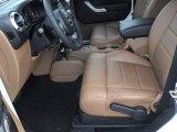 2012 Jeep Wrangler Sahara 4x4 Black/Dark Saddle Interior