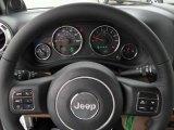 2012 Jeep Wrangler Sahara 4x4 Steering Wheel