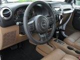 2012 Jeep Wrangler Sahara 4x4 Dashboard