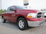 2011 Deep Cherry Red Crystal Pearl Dodge Ram 1500 SLT Quad Cab #53171707