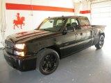 2003 Black Chevrolet Silverado 1500 SS Extended Cab AWD #53171405