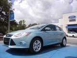 2012 Frosted Glass Metallic Ford Focus SEL 5-Door #53171567