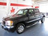 2005 Onyx Black GMC Sierra 1500 Z71 Crew Cab 4x4 #53171408